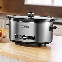 KitchenAid KSC6223SX 6-qt. Stainless Steel Oval Slow Cooker