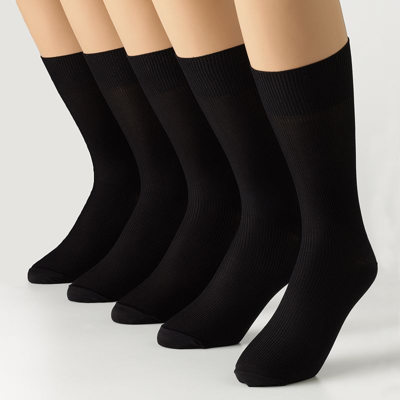 Men's Dockers® 5-pk. Nylon Performance Dress Socks