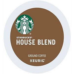 Keurig® K-Cup® Pod Starbucks House Blend Medium Roast Coffee - 16-pk.