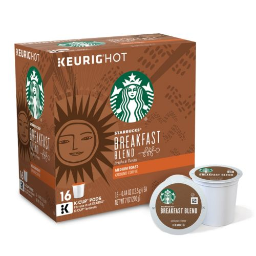Keurig® K-Cup® Pod Starbucks Breakfast Blend Coffee - 16-pk.