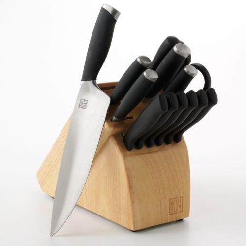 Bobby Flay™ 14-pc. Soft-Grip Cutlery Set