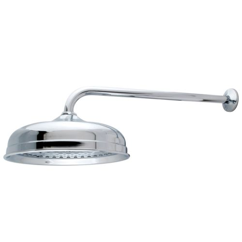 Kingston Brass Victorian Raindrop Showerhead With Shower Arm