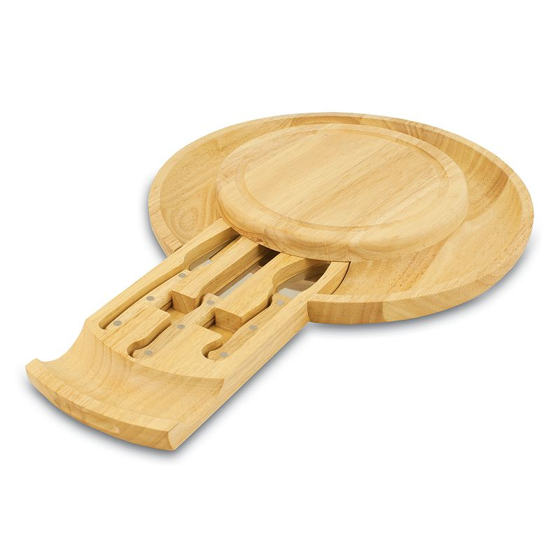 Picnic Time Colby Cheese Board and Tool Set