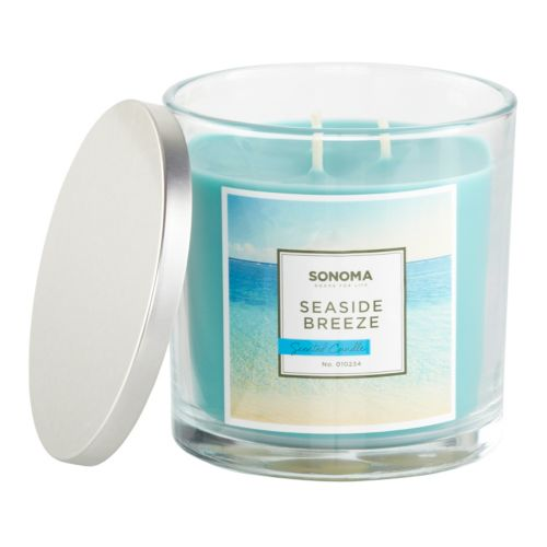 SONOMA life + style® Seaside Breeze 14-oz. Jar Candle