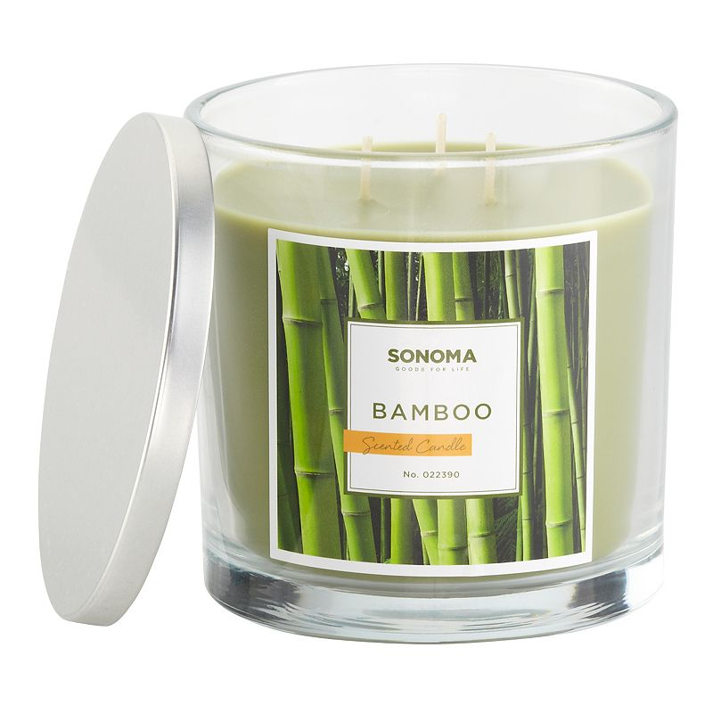 SONOMA Goods for Life™ Bamboo 14-oz. Jar Candle