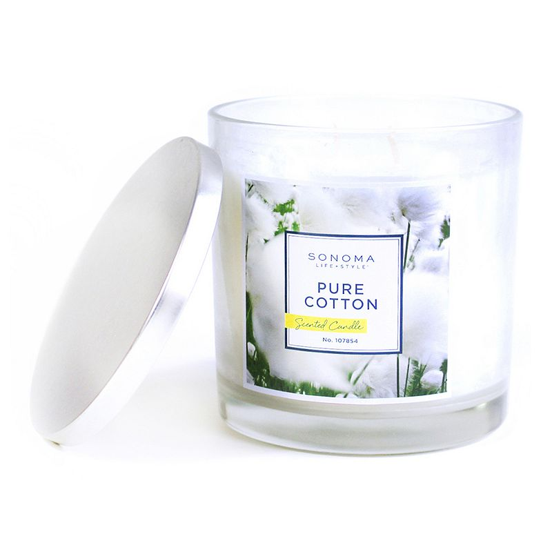 SONOMA Goods for Life™ Pure Cotton 14-oz. Jar Candle