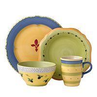 Pfaltzgraff Pistoulet Blue 16-pc. Dinnerware Set