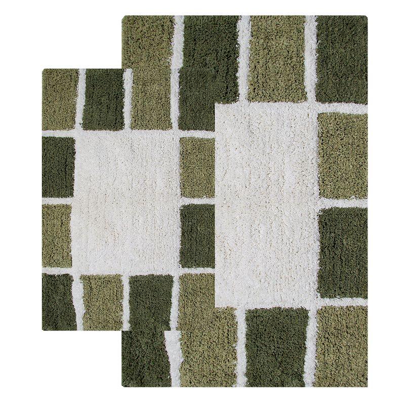 Chesapeake Mosaic Tiles 2-pk. Bath Rugs