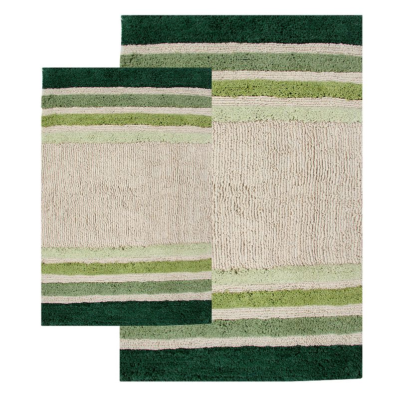 Chesapeake Tuxedo Striped 2-pk. Bath Rugs