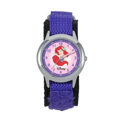 Disney Ariel Time Teacher Stainless Steel Watch - Kids