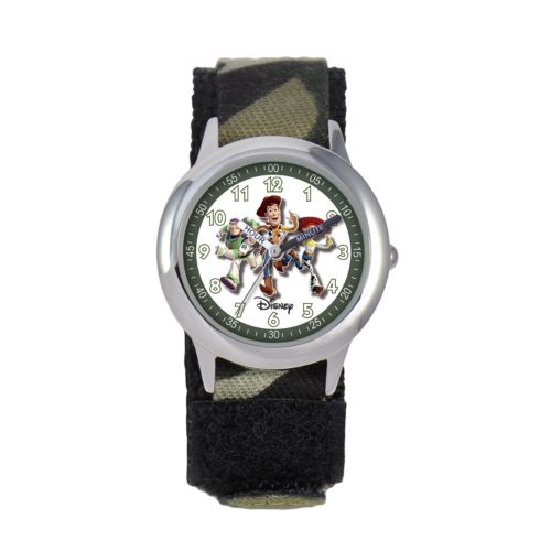 Disney / Pixar Toy Story Time Teacher Stainless Steel Watch