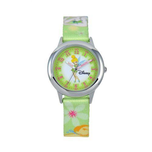Disney Tinker Bell Time Teacher Stainless Steel Watch - Kids