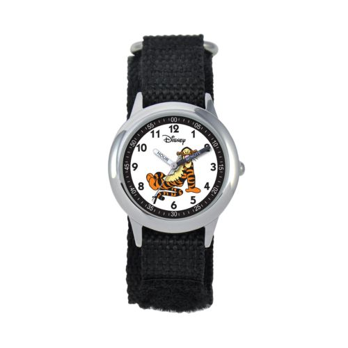 Winnie the Pooh Tigger Time Teacher Stainless Steel Watch - Kids
