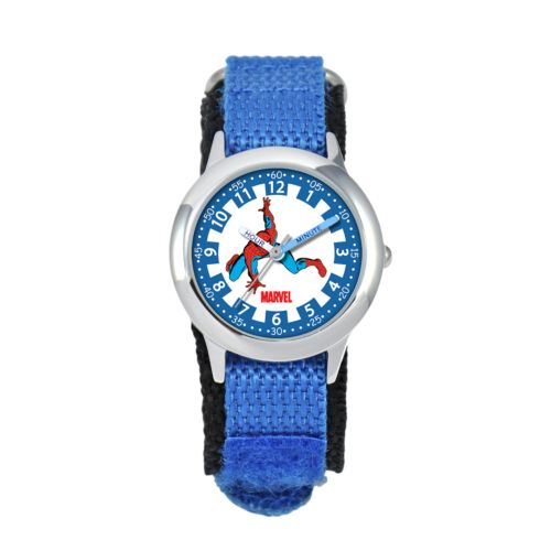 Spider-Man Time Teacher Stainless Steel Watch