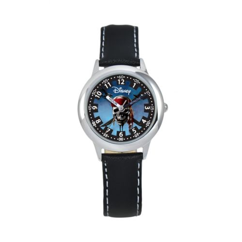 Disney Pirates of the Caribbean Time Teacher Stainless Steel Watch - Kids
