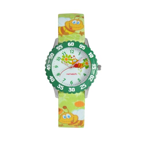 Red Balloon Time Teacher Stainless Steel Bee Watch - Kids