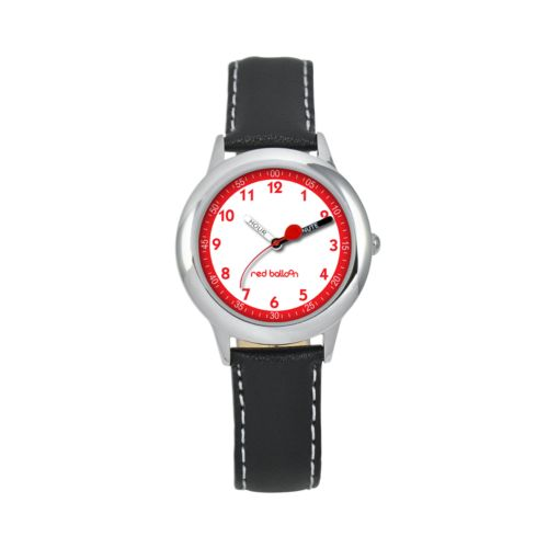 Red Balloon Time Teacher Stainless Steel Watch