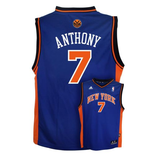 Boys 8-20 adidas New York Knicks Carmelo Anthony NBA Jersey