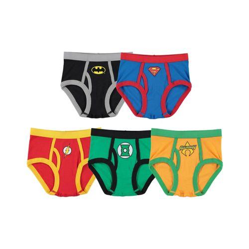Boys Justice League 5-pk. Briefs