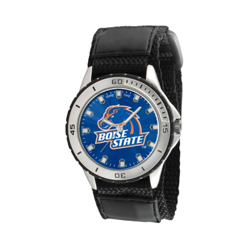 Game Time Veteran Series Boise State Broncos Silver Tone Watch - COL-VET-BST