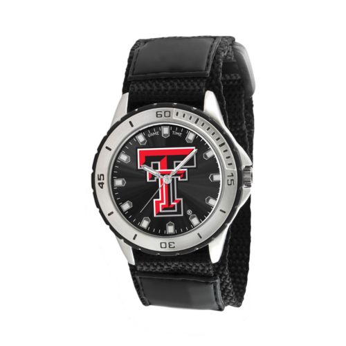 Game Time Veteran Series Texas Tech Red Raiders Silver Tone Watch - COL-VET-TXT
