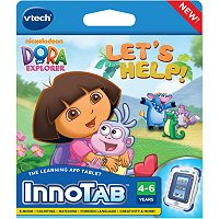 VTech Dora the Explorer Let's Help! InnoTab Software