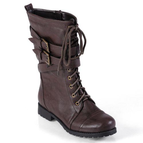 Journee Collection Jimba Midcalf Boots - Women