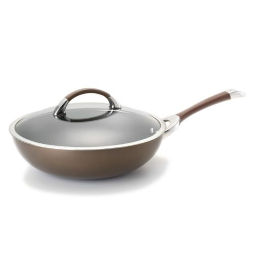 Circulon 12-in. Nonstick Covered Stir-Fry Pan