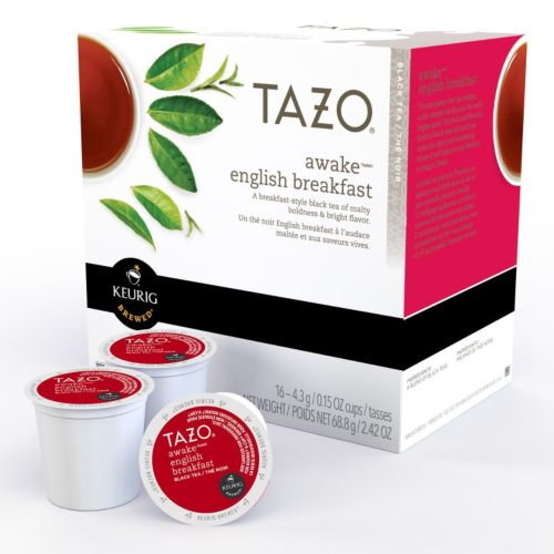 Keurig® K-Cup® Pod Starbucks Tazo Awake Black Tea - 16-pk.
