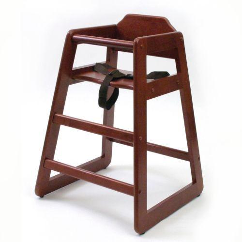 Lipper Wood High Chair