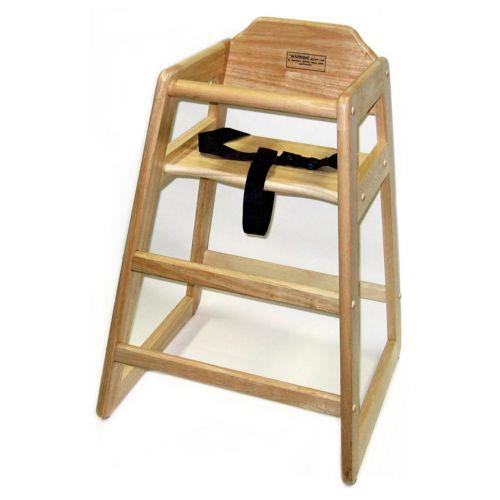Lipper Wood High Chair