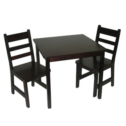 Lipper Children's Square Table and Chairs Set