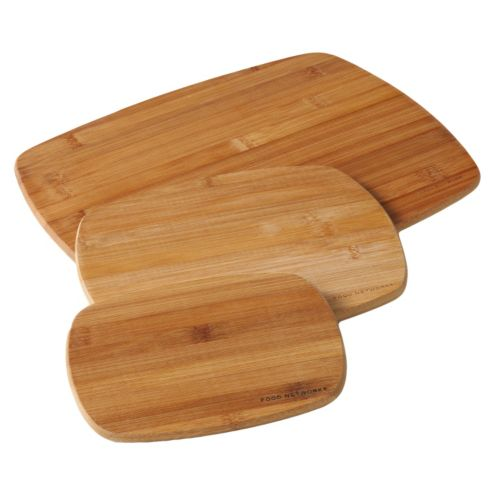 Food Network™ CookingGreen 3-pc. Bamboo Cutting Board Set