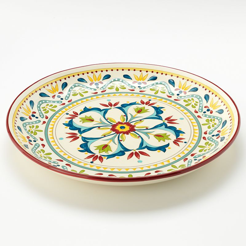 Bobby Flay™ Home Sevilla Red Round Platter