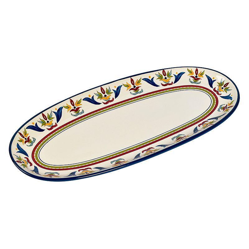 Bobby Flay™ Sevilla Blue Oval Serving Platter