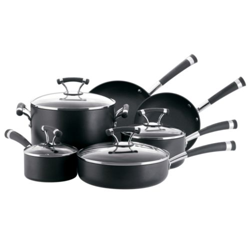 Circulon Contempo 10-pc. Nonstick Hard-Anodized Cookware Set
