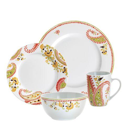 Rachael Ray Paisley 16-pc. Dinnerware Set