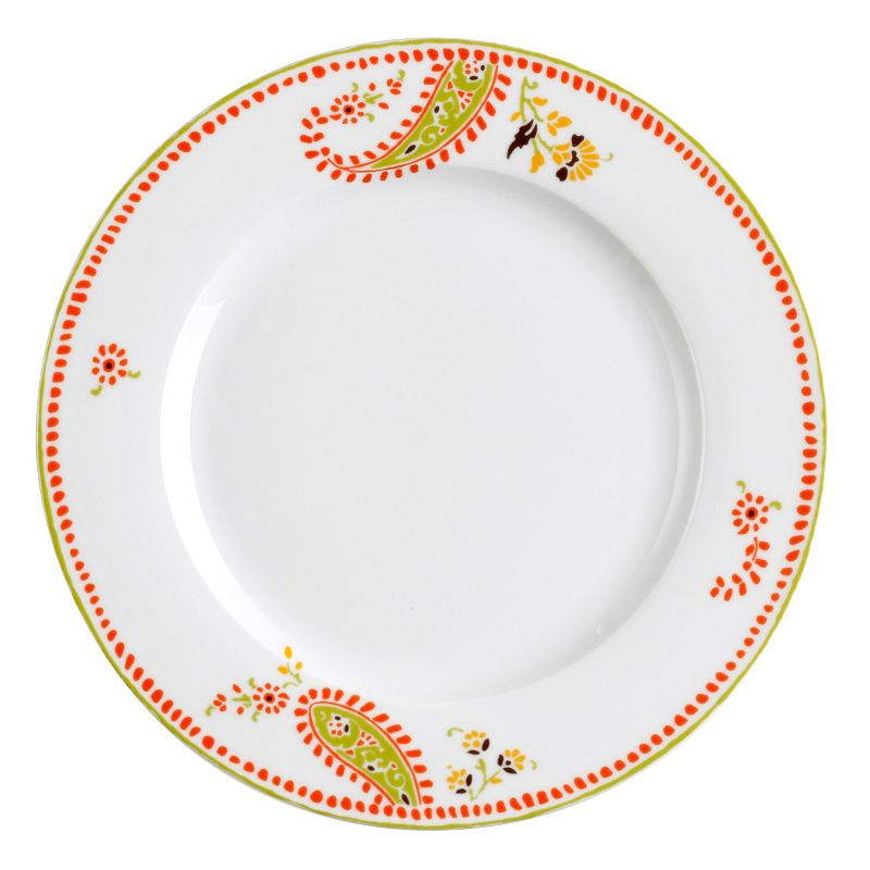 Rachael Ray Paisley 4-pc. Dinner Plate Set
