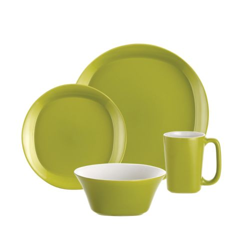 Rachael Ray Round and Square 16-pc. Dinnerware Set