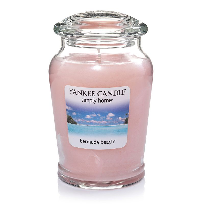Yankee Candle simply home Bermuda Beach 19-oz. Jar Candle