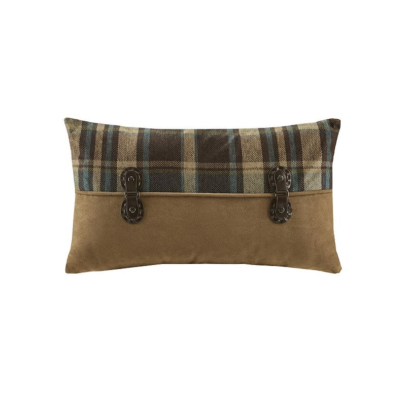 Woolrich Pieced Oblong Decorative Pillow DealTrend