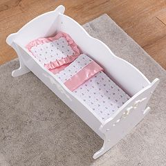 KidKraft Tiffany Bow Lil' Doll Cradle by