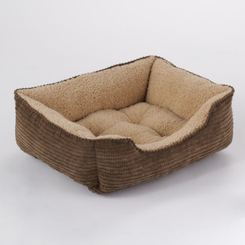 Dog Lounge Rectangle Pet Bed - 22'' x 18''