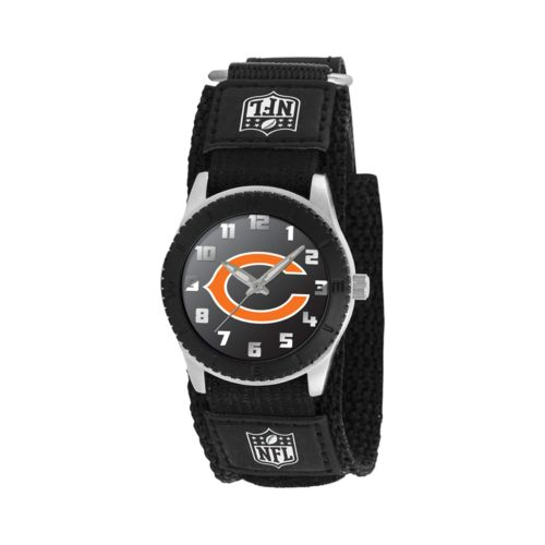 Game Time Rookie Series Chicago Bears Silver Tone Watch - NFL-ROB-CHI - Kids