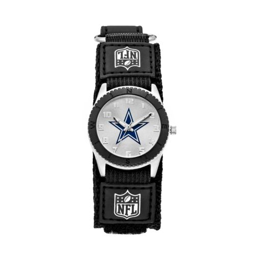 Game Time Rookie Series Dallas Cowboys Silver Tone Watch - NFL-ROB-DAL - Kids