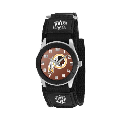 Game Time Rookie Series Washington Redskins Silver Tone Watch - NFL-ROB-WAS - Kids