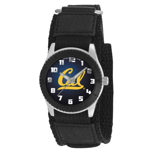 Game Time Rookie Series Cal Golden Bears Silver Tone Watch - COL-ROB-CAL