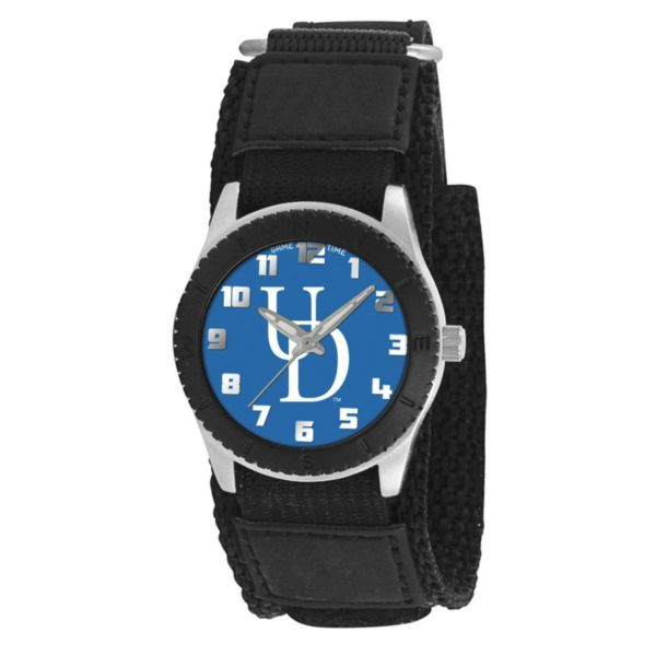 Game Time Rookie Series Delaware Blue Hens Silver Tone Watch - COL-ROB-DEL