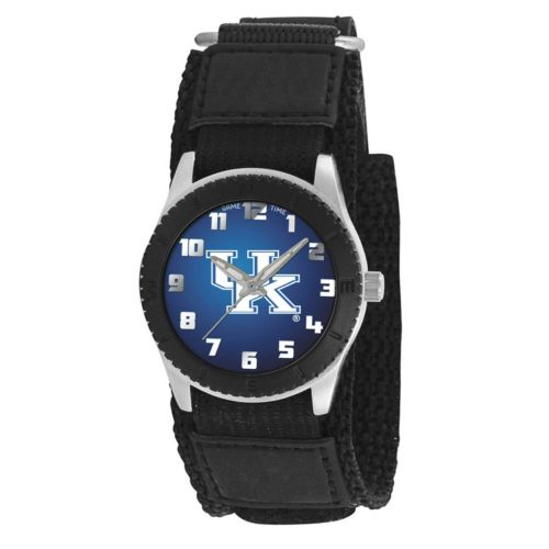 Game Time Rookie Series Kentucky Wildcats Silver Tone Watch - COL-ROB-KEN