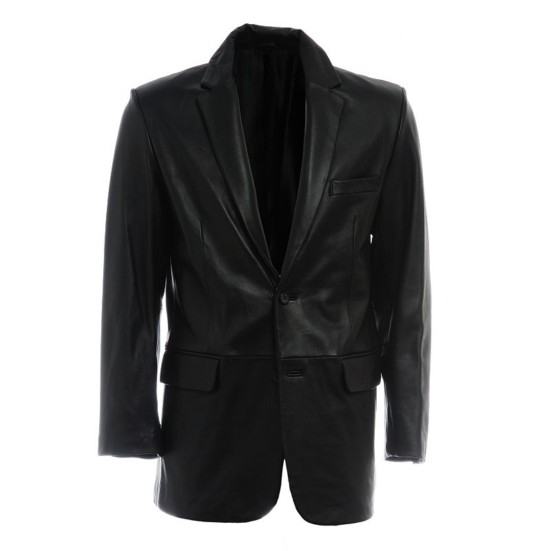 Men's Excelled Two-Button Leather Jacket